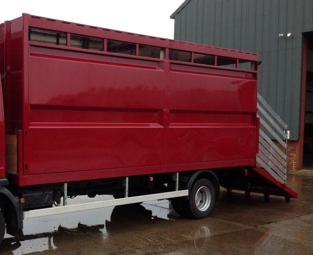 Plowman Livestock Single Deck Trailer