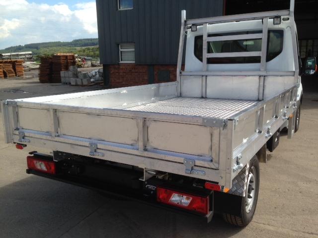 Aluminium & Steel Bodies MADE TO ORDER
