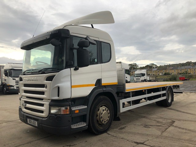 2011 SCANIA P230 SLEEPER C/W 22FT NEW BODY